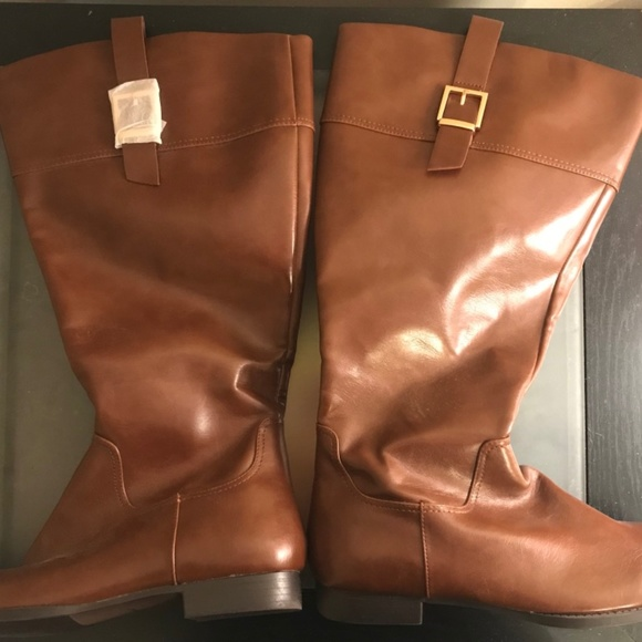 a2def144640 Size 9W Womens Tall Wide Calf Brown Boots